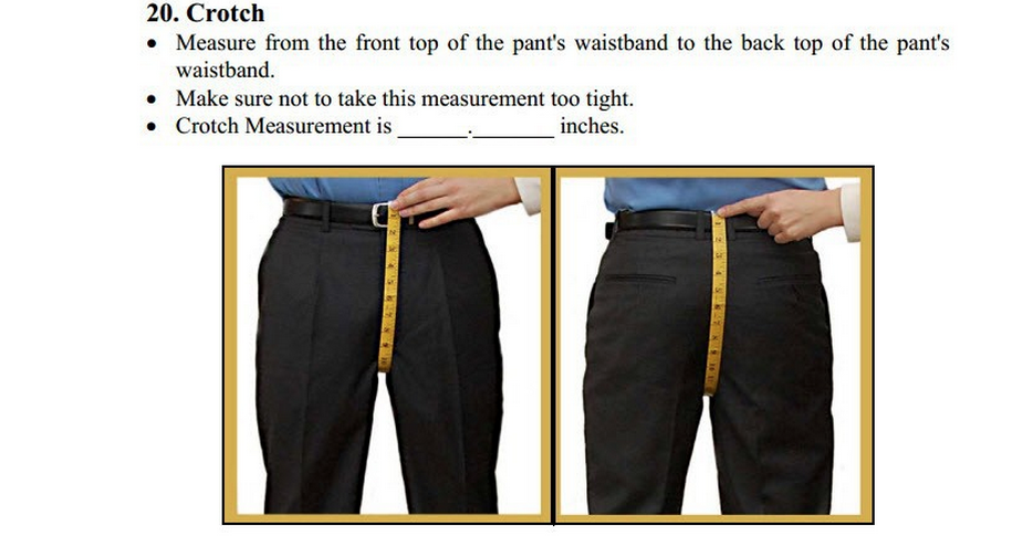 how to take your suit measurements