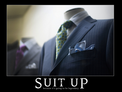 Do NOT over-accessorize. A pocket-square, a tie bar, and a lapel pin is too much at once. Use one