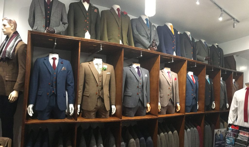 tweed suit shop