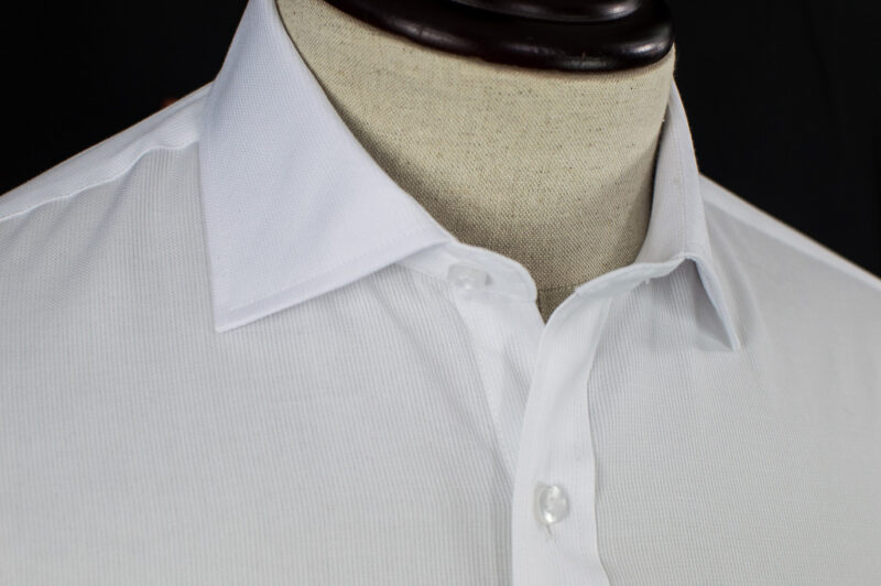 JW Luxury White Cotton Shirt