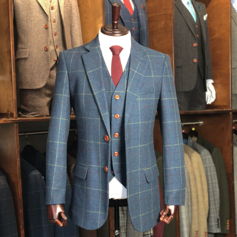 best quality for sale get cheap Tweed Suits | Men's Quality British Tweed Suit For The ...