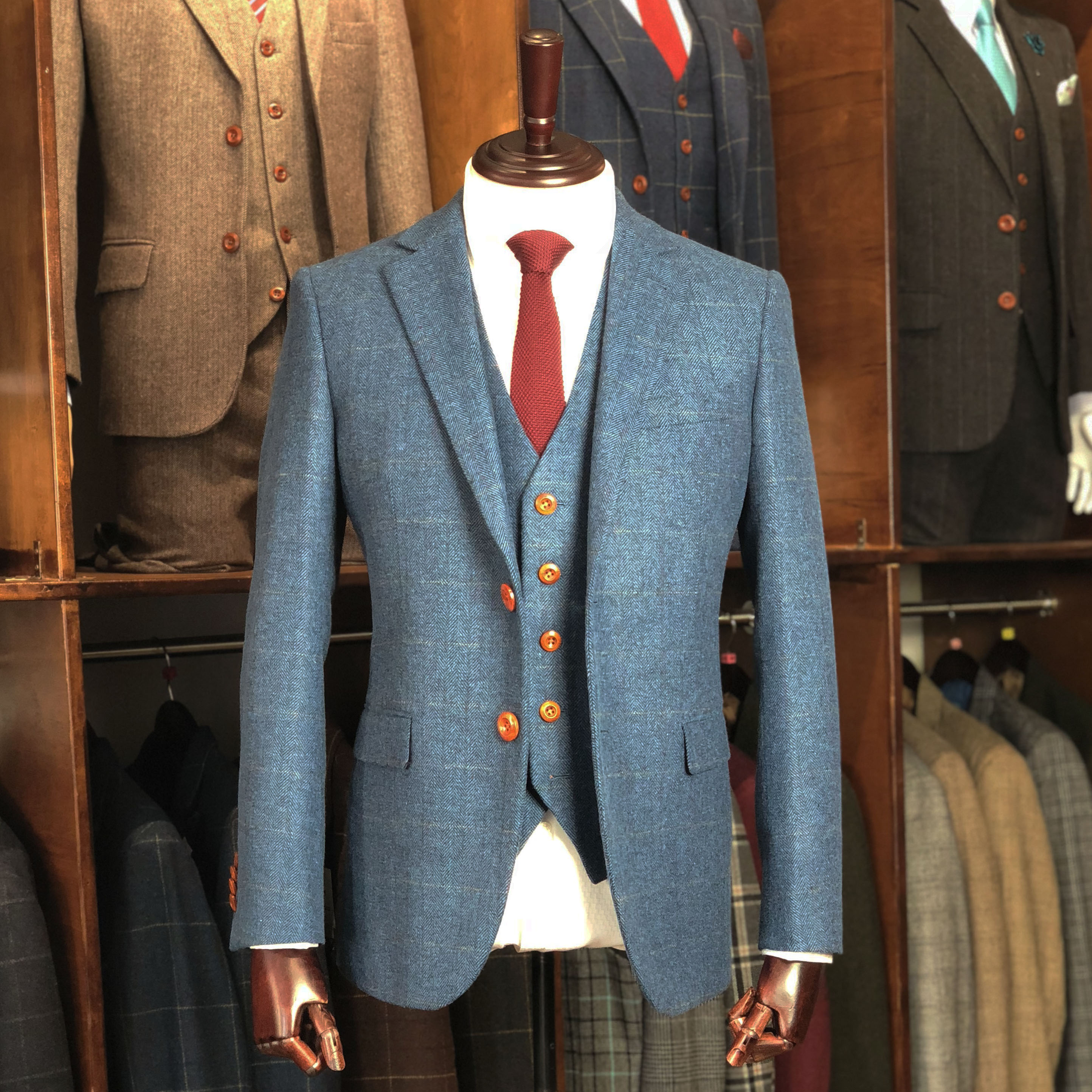 Tweed Suits | Men\'s Quality British Tweed Suit For The Modern Man
