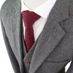 British Classic Grey Tweed Suit