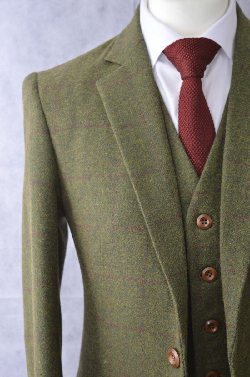 Heritage Country Green Tweed Suit