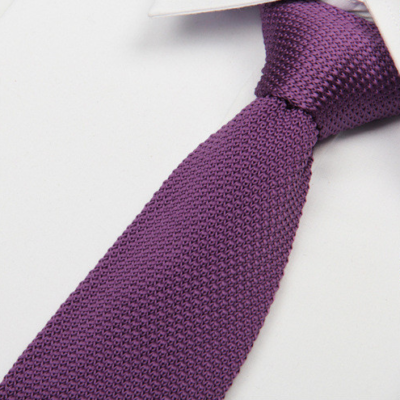 Lilac Luxury Knitted Tie