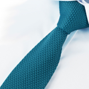 Cerulean Blue Luxury Knitted Tie