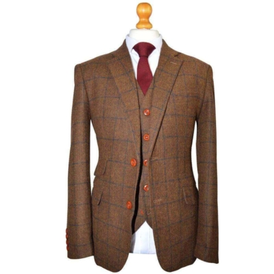 Jennis & Warmann | Exquisite British Tweed Suits