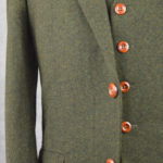 Green Classic Barleycorn Tweed Suit