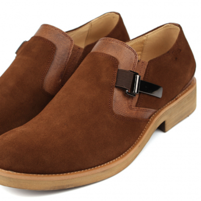 JW Suede Leather Tan Shoe