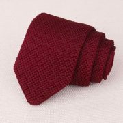 Traditional Cut Luxury Knitted Tie