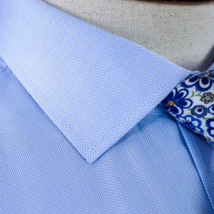 Blue Oxford Luxury Cotton Shirt