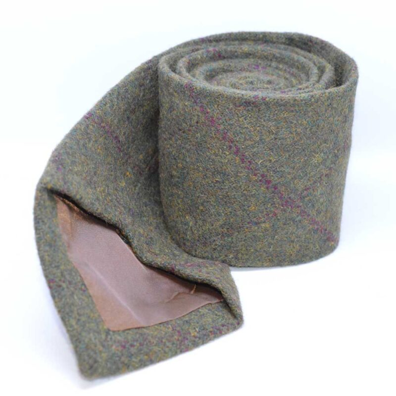 Heritage Country Green Tweed Tie