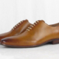 JW Genuine Leather Tan Oxford Shoe