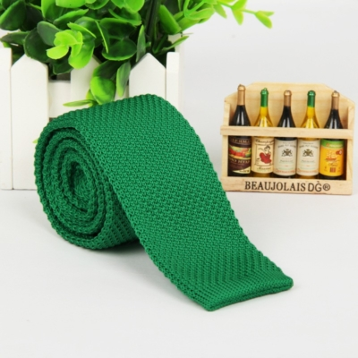 Morning Green Italian Cut Luxury Slim Knitted Tie
