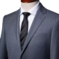 Grey Pinstripe Italian Wool Suit