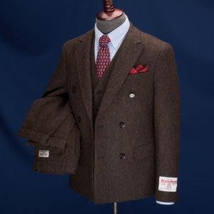 Cheltenham Golden Brown Harris Tweed Suit