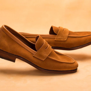 JW Genuine Suede Leather Italian Loafer
