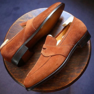 JW Genuine Suede Leather Loafer
