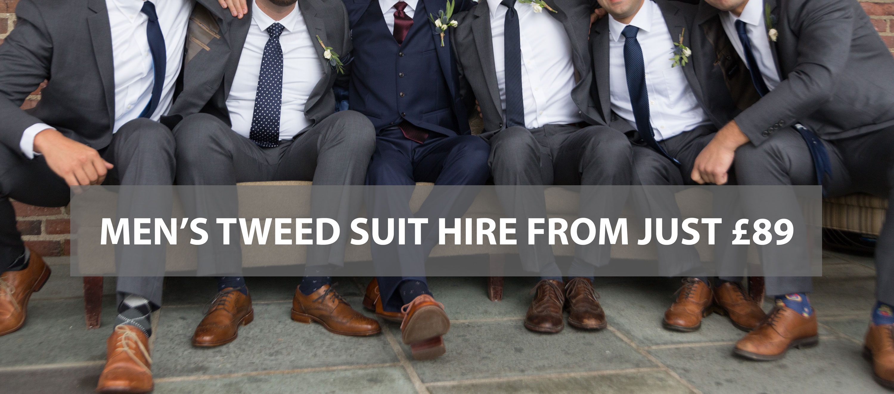 tweed suit hire