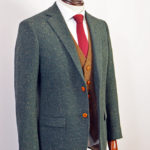 Green Speckled Donegal Mix & Match Tweed Suit
