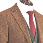 Brown Speckled Donegal Mix & Match Tweed Suit