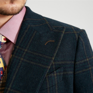 The Emperor Green Tartan Tweed Suit