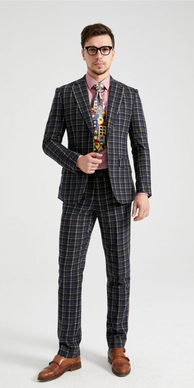 Tay Waverly Tartan Tweed Suit