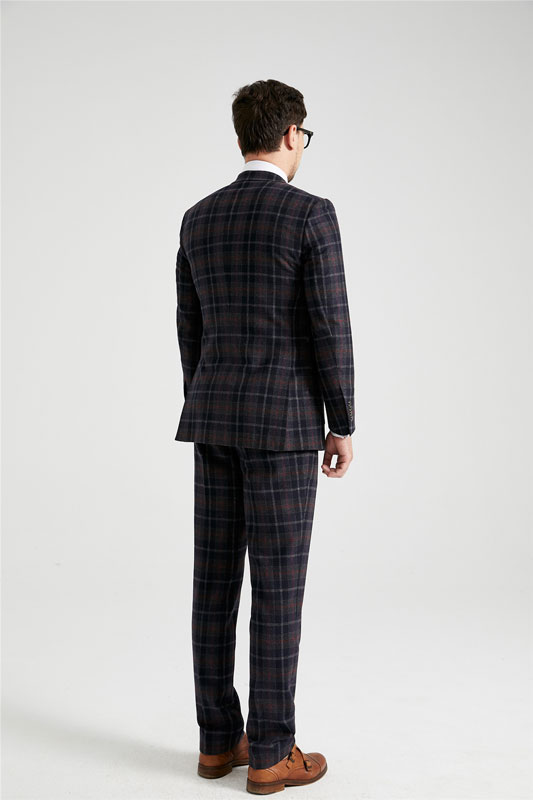 Edgar Tartan Tweed Suit