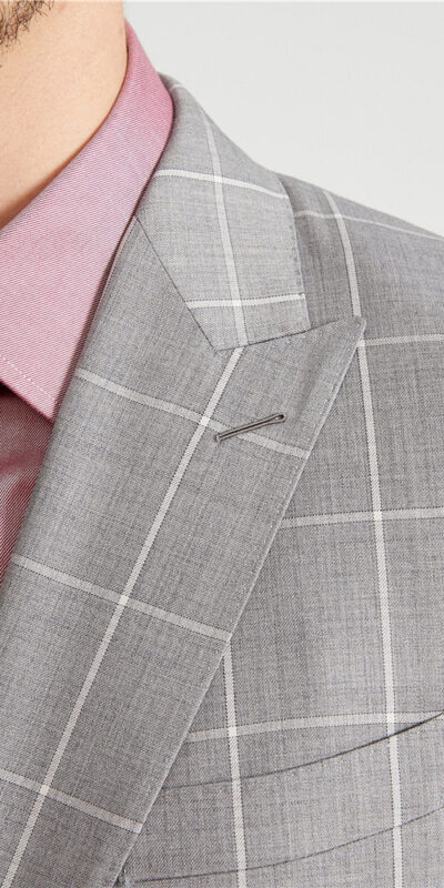 Ashford Grey Windowpane Suit