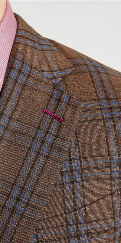 Country Brown Check Suit