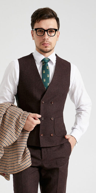 The Mersey King Combination Tweed Suit
