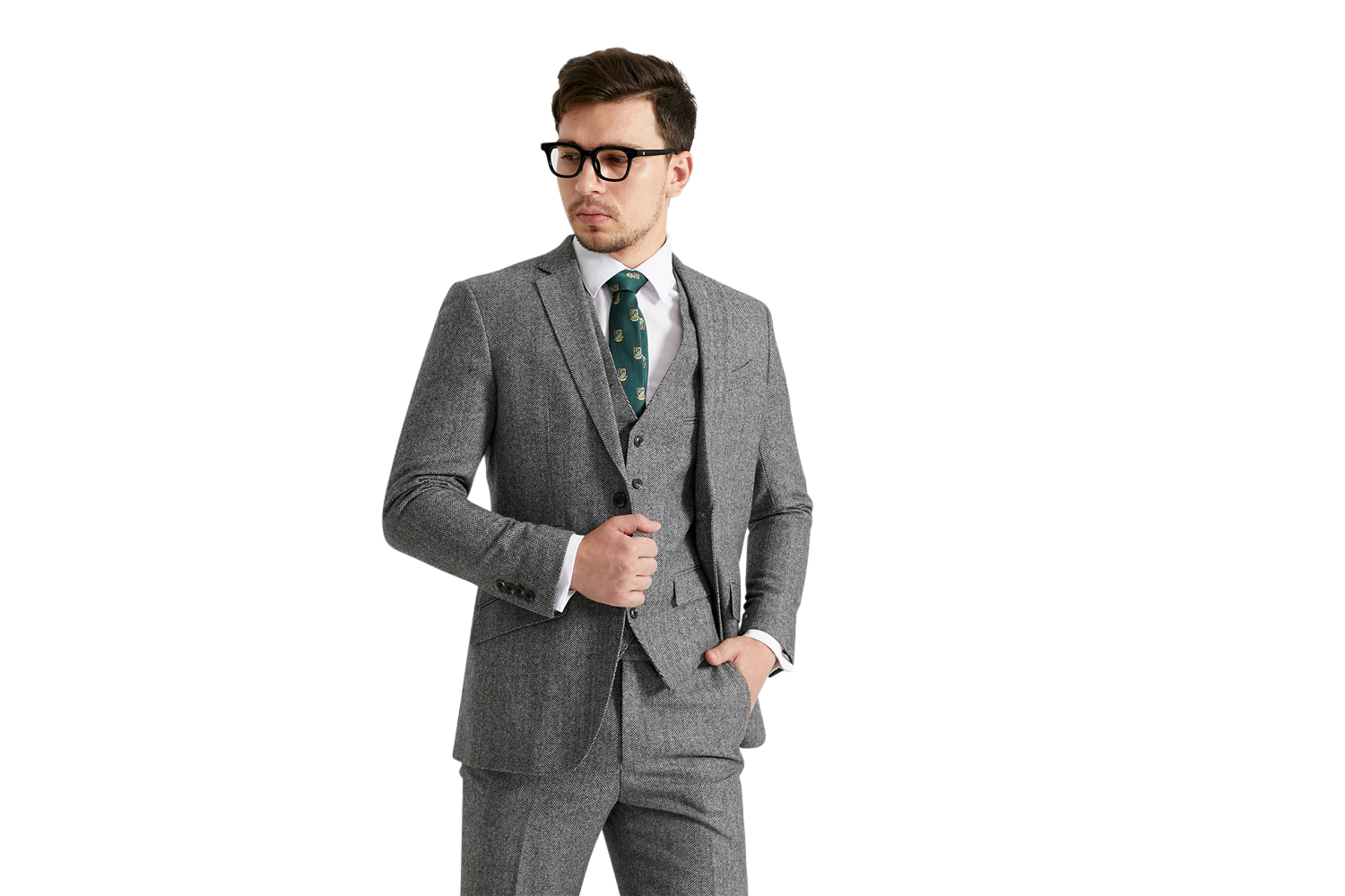 custom tweed suit